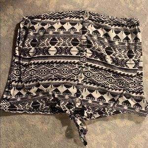 Tube top Aztec pattern